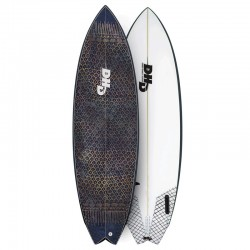 DHD Twin Fin 6'2 golden eyes