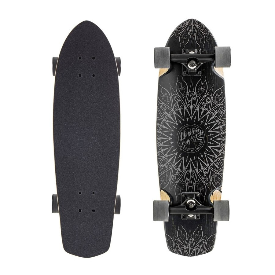"Cruiser Mindless Mandala 28"" Black"
