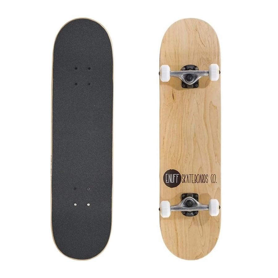 "Skateboard Enuff Logo Stain 8.0"" Natural"
