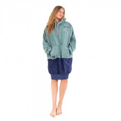 All In Poncho Junior Manches Longues skull blue grey