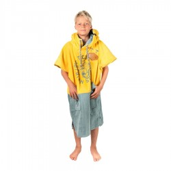 All In Poncho Junior Crew high surf print