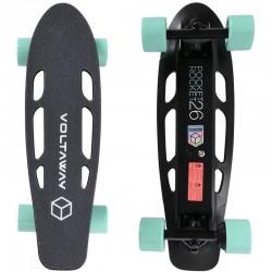 Skateboard Electrique Voltaway Pocket Rocket 26 Aqua