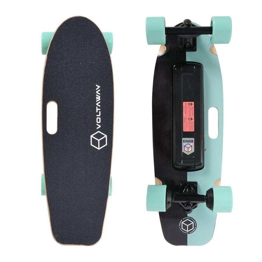 Skateboard Electrique Voltaway Goober 28'' Aqua