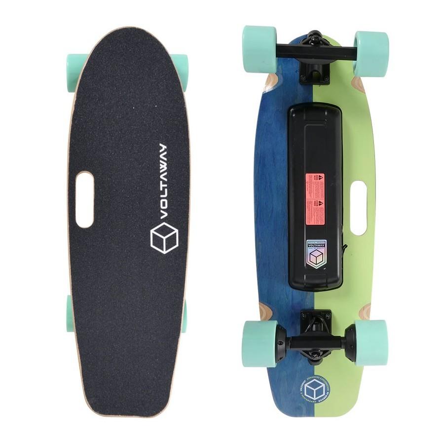 Skateboard Electrique Voltaway Goober 28'' Pistacchio