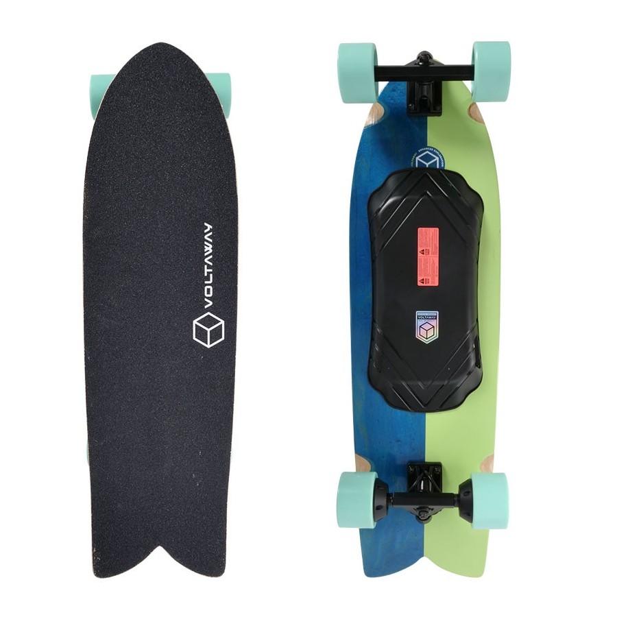 Skateboard Electrique Voltaway Slab 34'' Pistacchio