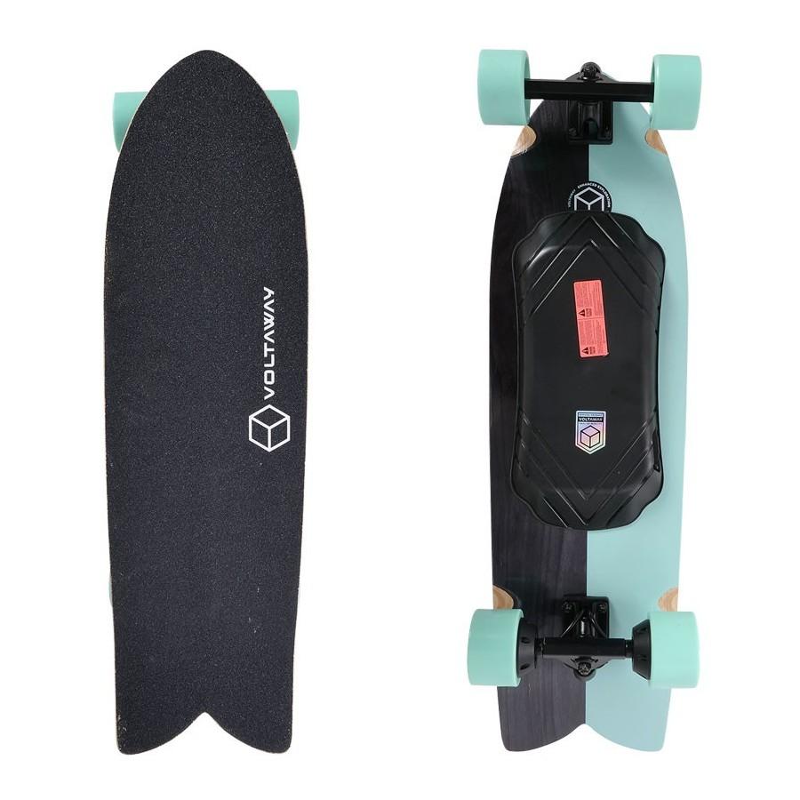 Skateboard Electrique Voltaway Slab 34'' Aqua