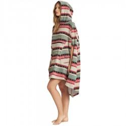 Billabong Womens Hoodie Towel sugar pine