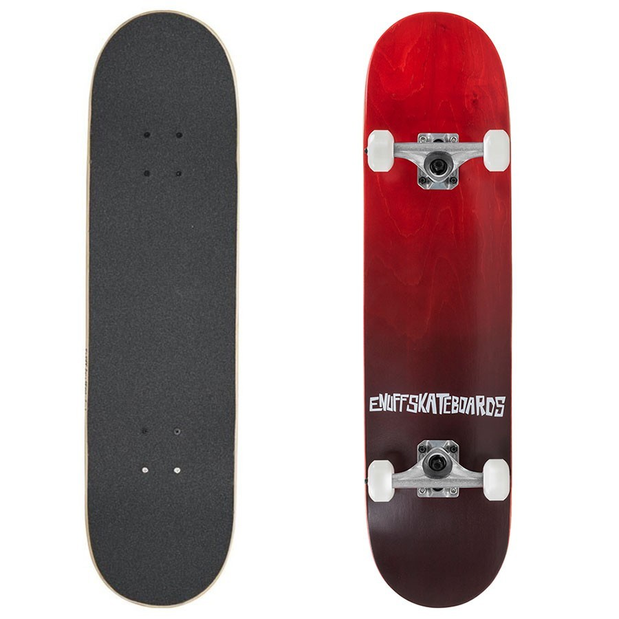 "Skateboard Enuff Fade Red 7.75"""