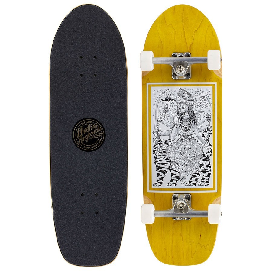 "Skateboard Mindless Tiger Sword 9"" Mustard"