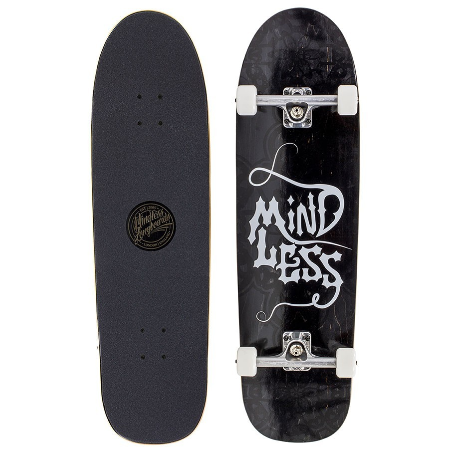 "Skateboard Mindless Gothic 9.25"" Black"