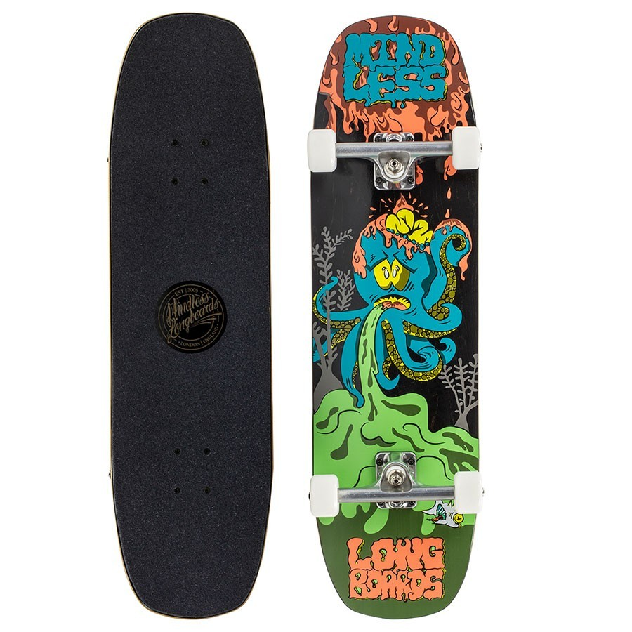"Skateboard Mindless Octopuke 8.75"" Green"