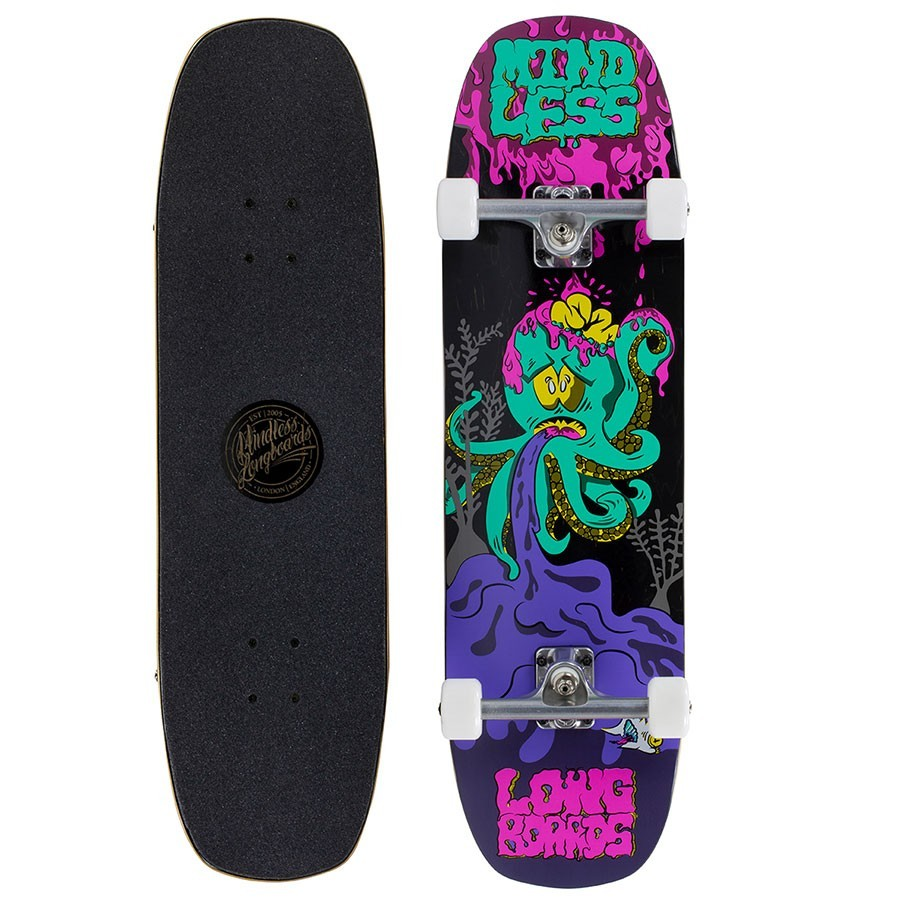 "Skateboard Mindless Octopuke 8.75"" Purple"