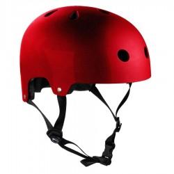 Casque Sfr Essensial Metal red