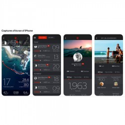 Rip Curl Search GPS 2 Blue Application