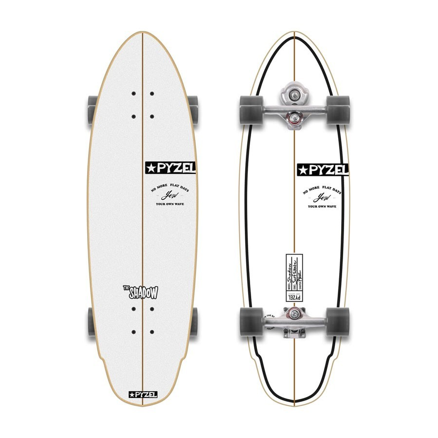 "YOW Surfskate Pyzel Shadow 29"" S4"