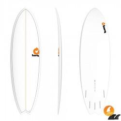 Torq Mod Fish 5'11 Pinline white