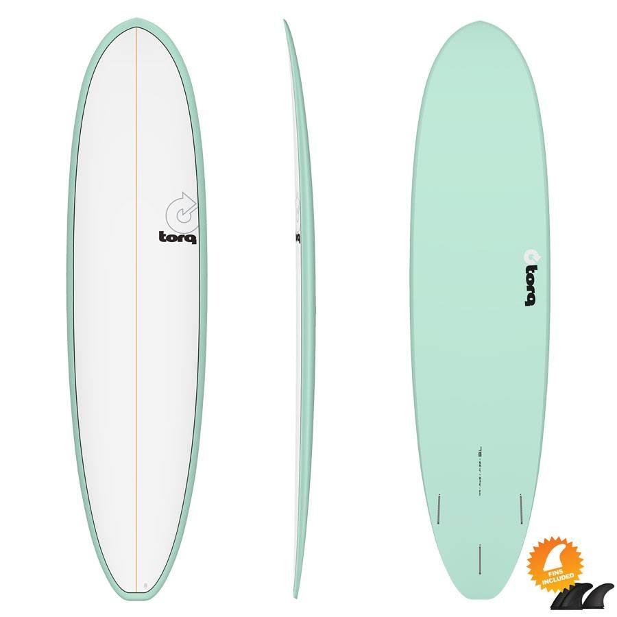 Torq Mod Fun 7'8 V+ Pinline Colour White Sea Green
