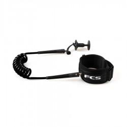 FCS Leash Bodyboard Poignet Black