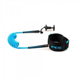 FCS Leash Bodyboard Poignet Black Blue