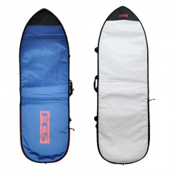 Housse FCS Classic Funboard steel blue white