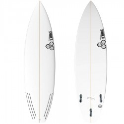 Channel Islands Surfboards Black and White FCS II