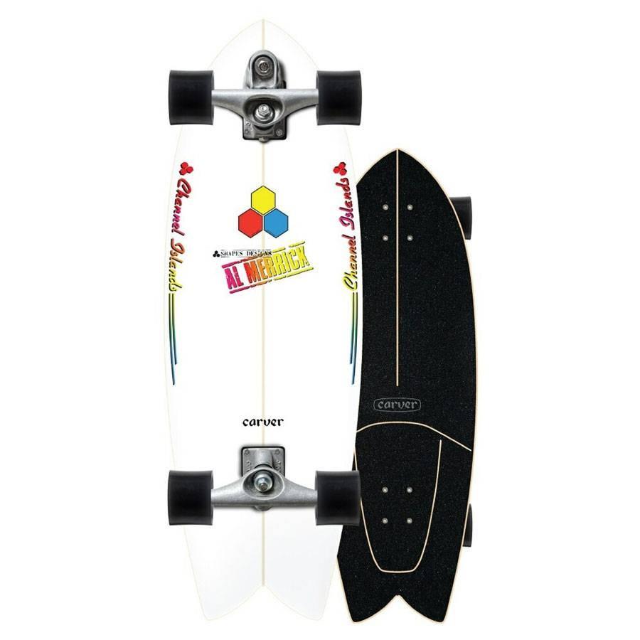 """Surfskate Carver Complet Fishbeard 29.25"""" C7"""