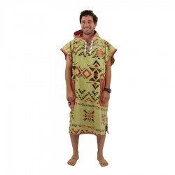 All In Poncho Classic Bumpy indian brown