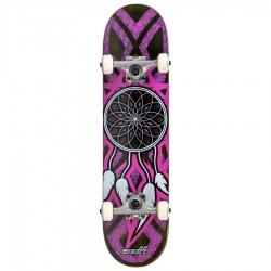Skateboard Dreamcatcher 7.75 grey pink