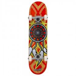 Skateboard Dreamcatcher 7.75 orange yellow