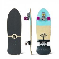 Surfskate SMOOTHSTAR JOHANNE DEFAY 32.5 Teal/Grey