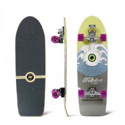 "Surfskate SMOOTHSTAR HOLY TOLEDO 33"" Sandy black"
