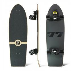 """Surfskate SMOOTHSTAR TOLEDO 77 34"""" Matt Black"""