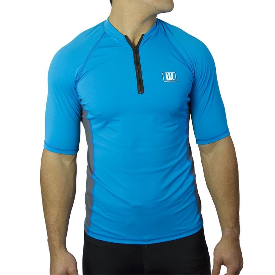 Howzit Lycra Homme zippé Bleu