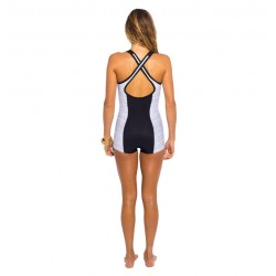 Rip Curl 1mm Cross Over Spring Suit Blanc