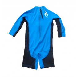 Rip Curl Lycra Kids Option manches Longues Bleu