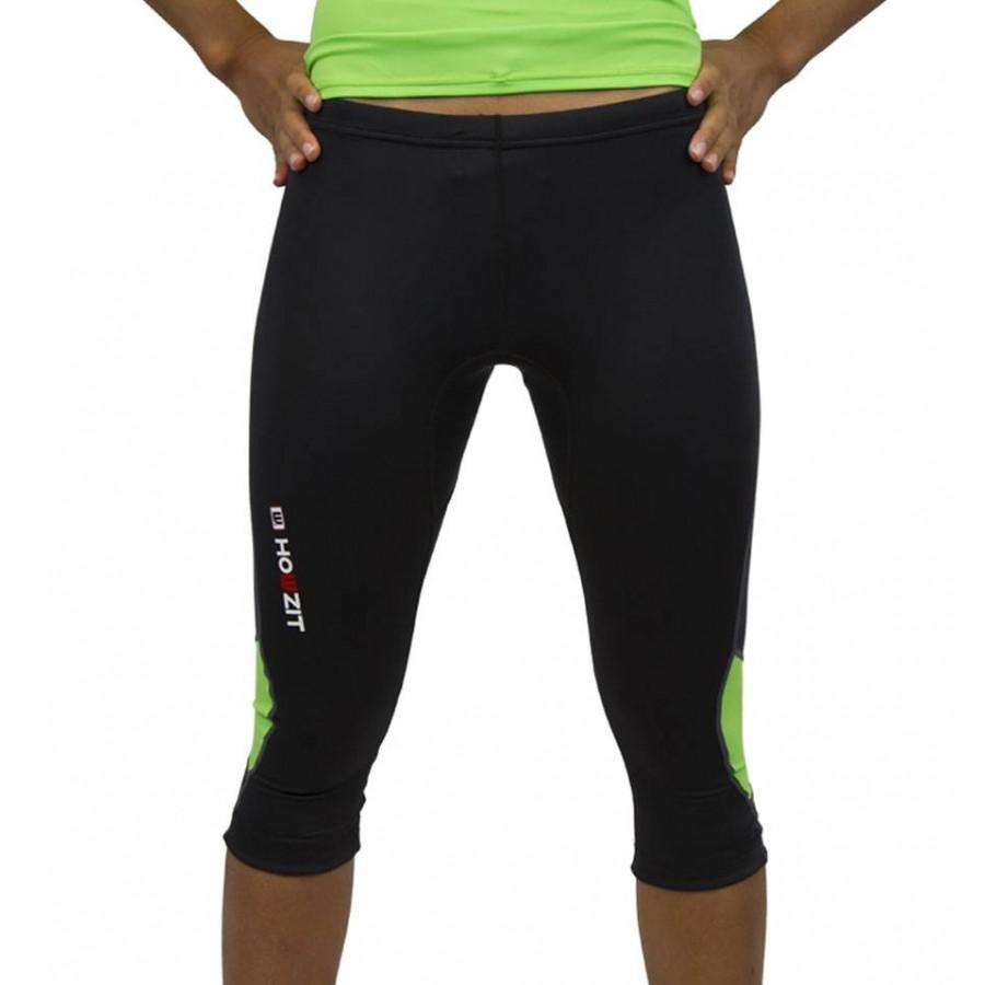 Howzit  Pantalon Femme Lycra 3/4 Capri Lime