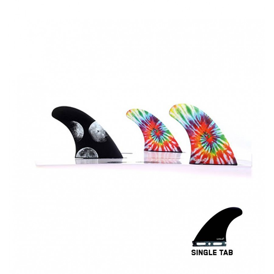 Gorilla Moon Beams & Melon Tri Fin Set