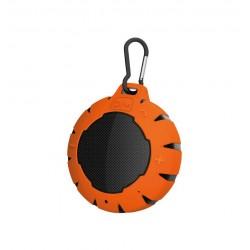 Enceintes HiRec Boom Puck IPX 7 Orange et noire