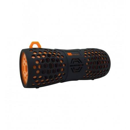 Enceintes HiRec Boom Tube IPX 6 Orange et noire