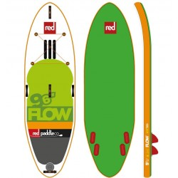 RED PADDLE 9'6 FLOW MSL FUSION