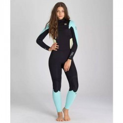Billabong Synergy 3/2 Chest Zip Ice