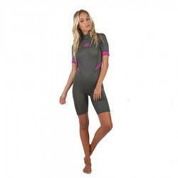 Billabong Synergy Spring Back Zip Off Black