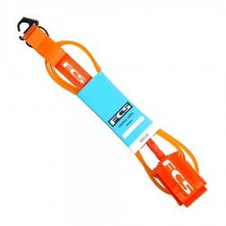 FCS Leash Premium Orange