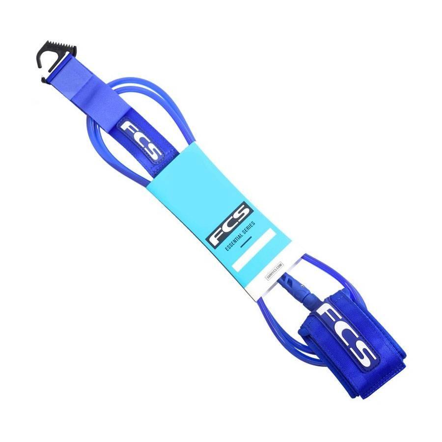 FCS Leash Comp Blue Glass