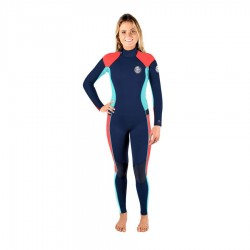 Rip Curl Dawn Patrol 3/2 Backzip Navy