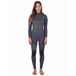 Billabong Synergy 3/2 Backzip Black Sand
