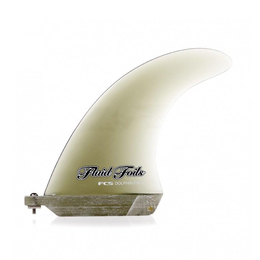 FCS dérives de longboard Dolphin PG Smoke