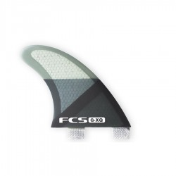 FCS dérives latérales de longboard GX Smoke Slice PC