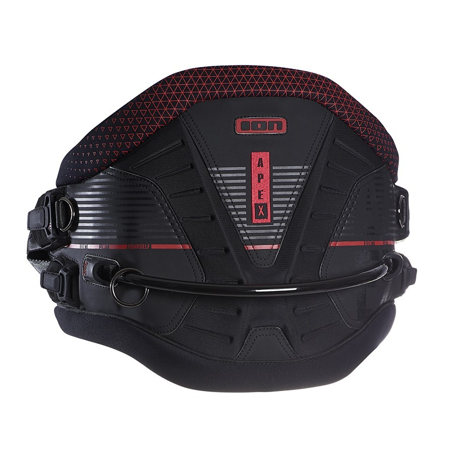 Harnais de Kite Ion Apex Black Red