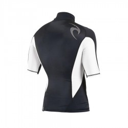 Rip Curl Lycra Fade Manches Courtes black white